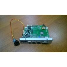 Материнская плата Ритейл-01 Ethernet с выключателем питания и задней интерф. кр. (RS/USB/2LAN) с ПО