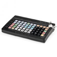 POS клавиатура АТОЛ KB-60-KU (rev.2) черная c ридером магнитных карт на 1-3 дорожки