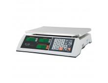 """Весы торговые M-ER 327 AC-15.2 """"Ceed"""" LCD Белые"""