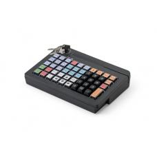 POS клавиатура АТОЛ KB-50-U (rev.2) черная c ридером магнитных карт на 1-3 дорожки