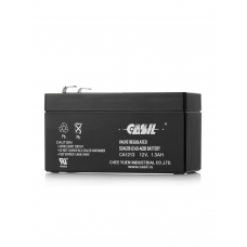 Аккумулятор кислотный герметичный 12В 1,3 А/ч