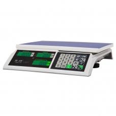 """Весы торговые M-ER 326 AC-15.2 """"Slim"""" LCD Белые"""