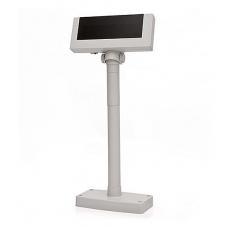 Дисплей покупателя Flytech 2x20 VFD (белый, подставка, внешний БП)