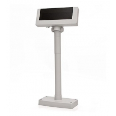 Дисплей покупателя Flytech 2x20 VFD (белый, подставка, планка питания)