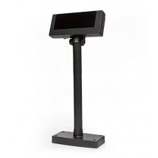Дисплей покупателя Flytech 2x20 VFD (черный, подставка, планка питания)