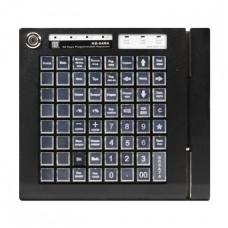 Программируемая клавиатура KB-64RK черная с ридером магнитных карт на 1&2-я дорожки