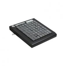 Программируемая клавиатура KB-64Rib/USB черно-серебристая