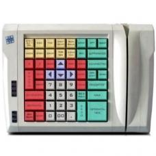 Программируемая клавиатура LPOS-064-M12(USB) бежевая с ридером магнитных карт на 2 дорожки