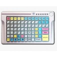 Программируемая клавиатура LPOS-084-M12(USB) бежевая с ридером магнитных карт на 2 дорожки