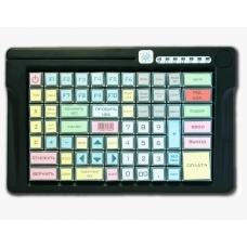 Программируемая клавиатура LPOS-084-M12(USB) черная с ридером магнитных карт на 2 дорожки