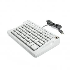 Программируемая клавиатура LPOS-084-M12(USB) бежевая с ридером на 2 дорожки (ключ)