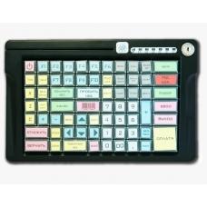 Программируемая клавиатура LPOS-084-M12(USB) черная с ридером на 2 дорожки (ключ)