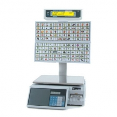 Весы с печатью этикеток DIGI SM-300BS