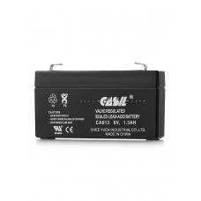 Аккумулятор кислотный герметичный 6В 1,3 А/ч