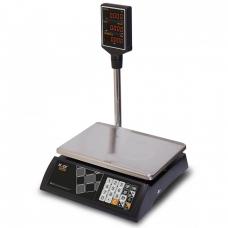 """Весы торговые M-ER 327 ACP-32.5 """"Ceed"""" LED Черные"""