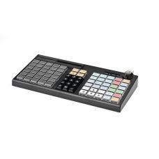 POS клавиатура АТОЛ KB-76-KU (rev.2) черная c ридером магнитных карт на 1-3 дорожки