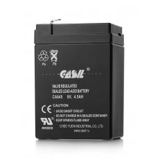 Аккумулятор кислотный герметичный  6В 4,5А/ч