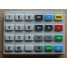 Клавиатура резиновая АВЛГ 410.85.10